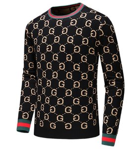 International high-end new sweater high-quality soft sweatshirt fashion coat Slim warm casual double-layer knitted M--3XL