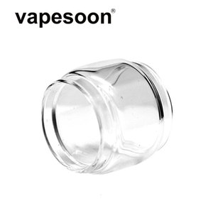 300pcs lot Authentic VapeSoon Replacment Fat Extend Bulb Glass Tube For Uwell Crown 3 4 IV Whirl kit 22 Nunchaku 2 Valyrian DHL