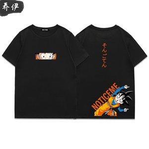 Dragon Ball T-shirt Goku hommes tee top deux Vegeta / femmes naruto meilleur ami T-shirt T-shirt Dragonball Z DBZ Son manga