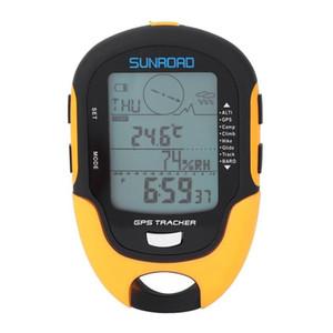 Receptor Sports Tracker Entretenimiento SUNROAD FR510 portátil de navegación GPS portátil Barómetro Altímetro Brújula digital portátil Localizador