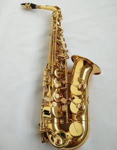 악기 새로운 대만 JUPITER JAS - 567 알토 Eb 조정 색소폰 골드 옻칠 색소폰 전문 케이스 마우스 피스 송료 무료