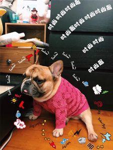 tela de seda de oro de lujo para mascotas Patrones suéter Pet Fashion Winter Jumper Classic geométricas gato perro Schnauzer Sudaderas Bulldog admiten Apparel