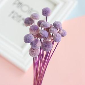 جودة عالية زر الزهور المجففة أقحوان الأبدي هدية مربع المادية زهرة المنزل الخلفية الدعائم ترتيب صور زينة الزفاف