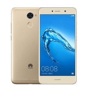 Orijinal Huawei 7 Artı 4G LTE Cep Telefonu 4GB RAM 64GB ROM Snapdragon 435 Octa Çekirdek Android 5.5 inç 12MP Parmak İzi Kimlik Cep Telefonu Enjoy