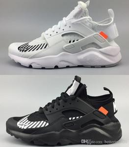 Yeni mens için Ayakkabı Koşu 2019 Ultra 4 Erkekler Kadınlar Siyah Beyaz Spor Ayakkabı Oregon AC.2017 Zapatillas Huarache Sneakers boyutu 36-45 Huaraches