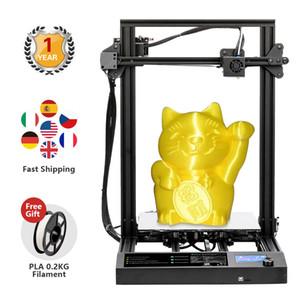 NOUVEAU FDM 3D Works Pilotes Imprimante S8 avec différents supports de Filament BOIS / PLA / PETG / TPU / ABS Taille matériau d'impression en 310 * 310 * 400mm