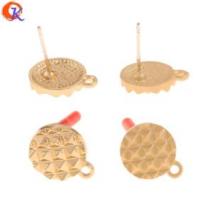 Cordial Projeto 100PCS 11 * 14MM Jóias Acessórios / Feito à Mão / brincos / forma redonda / DIY Parts / Jewelry Making / Apreciação Brinco