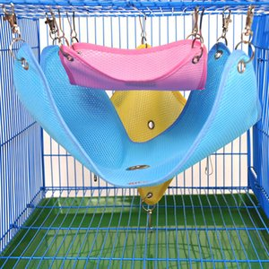 Hamster Hanger Pet Articles Air permeable Mesh Chinchilla Ferret Swing Spring Summer And Autumn Cages For Hamsters