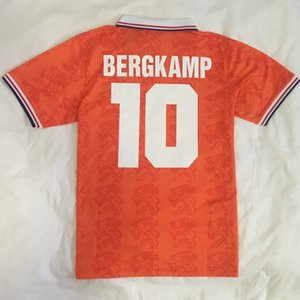 Retro HOLLAND Netherlands Soccer Jersey estrela Van Basten 1994 1996 camisas de futebol Holanda Retro van Basten Bergkamp Kluivert Gullit Rijkaard