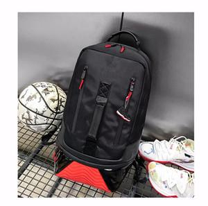 J-4480 del bolso caliente de la venta unisex Escuela adolescentes baskball mochila mochilas de viaje al aire libre para adultos Bolsa de hombro Knaspack