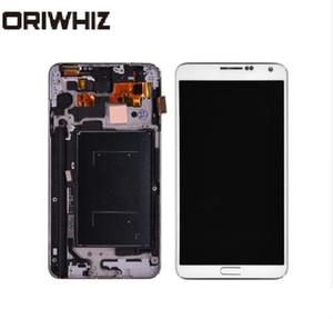 Dokunmatik Ekran Sayısallaştırıcı ile Bezel Çerçeve Meclis ile ORIWHIZ İçin Samsung Galaxy Note 3 N9005 LCD Ekran