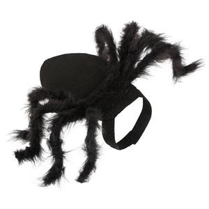 Pet Köpekler Giyim Cadılar Bayramı Örümcek Cosplay Pet Kostüm İçin Kedi Köpek Örümcek Bat Role Play Parti Noel için Yukarı Giyim Giyinme