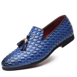 Sapatos Moda Pointed Toe Dress Shoes Men sapatos de couro de patente Oxford para homens formais sapatos de casamento Mariage Hot 2019 Sale-