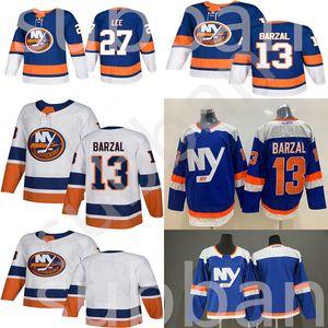 Hockey Jersey Islanders de New York Autre Bleu Troisième 13 Mathew Barzal Jersey 27 Anders Lee Denis Potvin