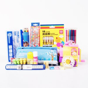 Childrens Birthday Gift Learning Stationery Set Primary School Students Learning Package Gift Box Prize Pack Boys And Girls Cartoon Cute Lea