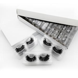 15mm Lashes en gros 3D Vison Cils personnalisé Private Label naturel Fluffy Faux cils Extensions complètes Strip Lashes Maquillage Lashes Mink
