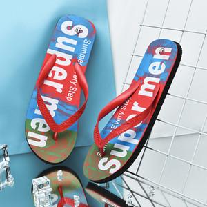 الأسعار 6USD الصيف شاطئ خاص زحافات الرجال النعال في الهواء الطلق وصول جديدة الأزياء والأحذية الرجال عادية نعال أحذية براون داخلي T200408