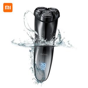 Xiaomi 3D мужчины электробритва бритва Enchen BlackStone3 IPX7 водонепроницаемый мокрый сухой двойного назначения ЖК-электробритва USB зарядка