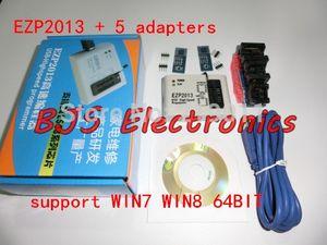 Freeshipping EZP2013 EZP2010 Güncelleme EZP2011 yüksek hızlı USB SPI Programcı 24 25 93 EEPROM flaş bios vista WIN7 + 5 adaptörleri