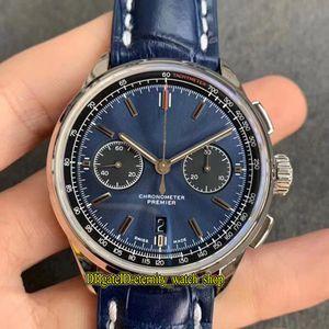 GF Top version Premier B01 Chronograph 42 AB0118A61C1P1 Blue Dial ETA A7750 Chronograph Automatic AB0118A61C1P2 Mens Watch Designer Watches