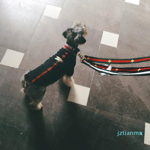 Pet Dog Collar Leashers Safety Collar Pet Little Bee Supplies Leashes Harnesses Fashion Teddy Schnauzer Adjustable Strap Vest Collar
