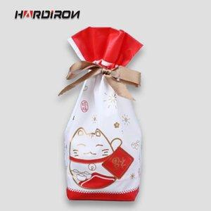 Borsa HARDIRON coulisse plastica Candy Cookie sacchetto di compleanno della festa nuziale della Packaging Packet Consegna gratuita