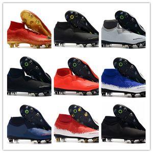 Caliente 2019 zapatos para hombre de vapores 13 XIII Elite SG-PRO AC CR7 Ronaldo Neymar NJR Mujer de Boys fútbol Botas de fútbol grapas del US6.