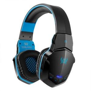 KOTION CHAQUE B3505 sans fil Bluetooth 4. 1 Stéréo Gaming Casque Casque HiFi Micro Contrôle du volume Musique Casques jeu W605 1pcs