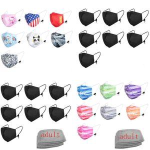 newest Fast delivery Designer masks Cover face masks PM2.5 Mask Respirator Dustproof Anti-bacterial Washable Reusable non-cotton Masks