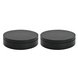 2x Mobile Phone Shoes Stands Jóias visualizar o visor Rotating giratória preta