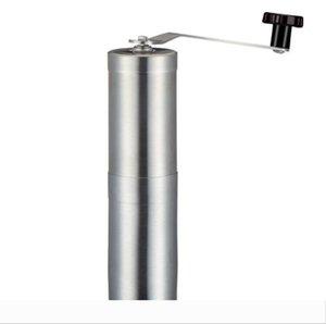 Manual Coffee Grinder con mango de precisión de acero inoxidable Brewing acero inoxidable cepillado manual de moler el café de la máquina H103