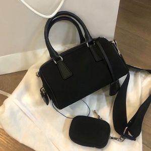 Designer Boston bag canvas shoulder bag for women designer purse lady Tote handbags purse messenger bag designer handbags canvas purse