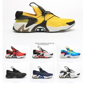 Adaptar nueva Huarache Racer hombres de los zapatos corrientes de diseño Blanco Negro Rojo Amarillo Huraches Brand entrenadores deportivos zapatillas de deporte del tamaño de la moda 40-45