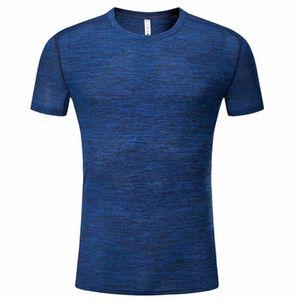 Открытый быстрый сухой дышащий Бадминтон рубашка женщины мужчины бег спорт летние бегуны обучение командная игра бег теннис футболки-82