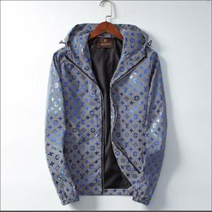 Nuovo progettista 2020 di lusso Giacche Lettera Moda Uomo Stampa cappotti di inverno del progettista di marca giacca Windbreaker Mens Streetwear Zipper