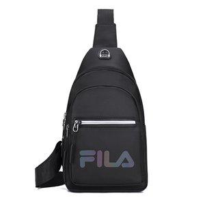 Modo di marca nero Camouflage pacco petto di carica multifunzionale del messaggero degli uomini borse casual Viaggi Maschio piccola tracolla
