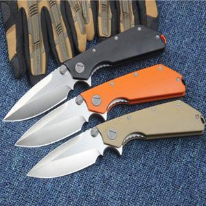 MT D.O.C DOC muerte de contacto D2 58-60HRC 3 colores que doblan acampa de la supervivencia del cuchillo del cuchillo al aire libre del regalo 1pcs Adul