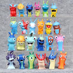 2020 Cute Children Mini Cartoon Monster Slugterra Model Decoration Toys Set Figure