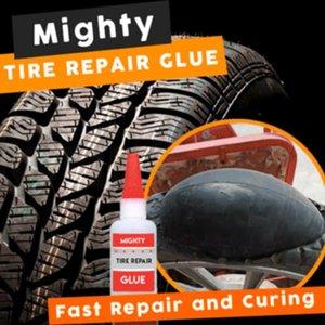 금속 플라스틱 목재 세라믹 용접에 대한 30ML 마이티 타이어 수리 접착제 타이어 펑크 실란트 접착제 자전거 자동차 타이어 수리 패치