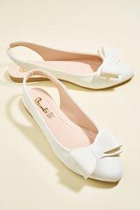 Bambi blanc Femmes ballerine H0626100499