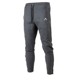 Cotton casual pants men joggers sweatpants gym fitness bodybuilding trousers male running sport workout spring track pants