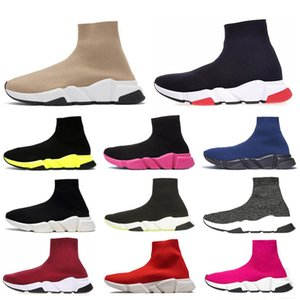 sock shoes ACE Designer casual sock Shoes Trainer Black Red Dark Grey Fashion Socks Sneaker Trainer casual shoes 36-45