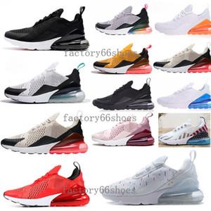 Nike Air Max 270 Scarpe da donna stile francese 2 stelle di alta qualità per uomo donna molto colore bianco nero rosso spedizione gratuita scarpe casual 36-45 8ee