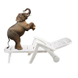 Hakiki 1.9 M Sun Lounge Chair Kalınlaşmak Katlama Leisure Açık Yatak Otel Yüzme Havuzu Plaj Sandalye Nap istirahat PP Başlangıç Funiture