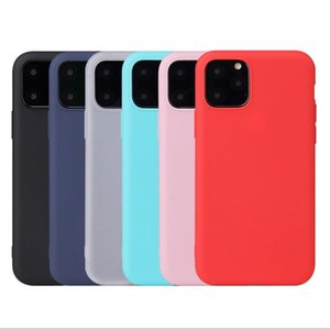 Soft TPU Candy Color Shockproof Protection Case Cover for iPhone 11 Pro XR XS 8 7 6 Plus