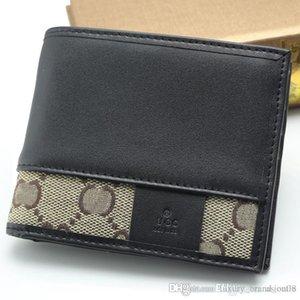 Multiple Choice Men Luxury Genuine Leather MT Wallet Man Calfskin Cash Clip , Business Jewelry Copper Cufflink Suit MB Cuff Links Man Gift