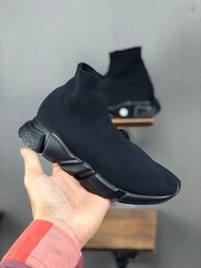 Niño de calidad barato Speed Trainer botas para niños de diseño de los muchachos jóvenes muchachas de los niños zapatillas de deporte de lujo Deportes calcetín tamaño de los zapatos de arranque 24-35