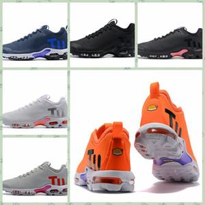 Nike TN 2019 MERCURIAL TN KPU Calçados casuais Designer Homens Tn treinadores desportivos de luxo Sneakers Além disso TN Ultra SE TPU preto OutdoorAthletic Jogging