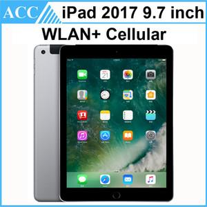개장 한 원래 애플 iPad 2017 9.7 인치 5 세대 WIFI + 셀룰러 A9 칩셋 듀얼 코어 1.84GHz 2GB RAM 32 기가 바이트 128 기가 바이트 ROM 태블릿 PC DHL 1pcs