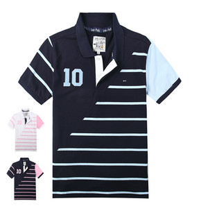 2019 самый продаваемый новый мужской пары хлопок Eden Park короткие рубашки поло для французского дизайнера бренда случайные вышивка M L XL XXL XXXL